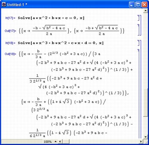 Программу eureka для решения уравнений